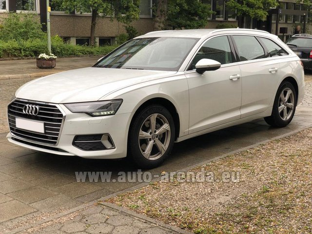 Rental Audi A6 40 TDI Quattro Estate in the Hague