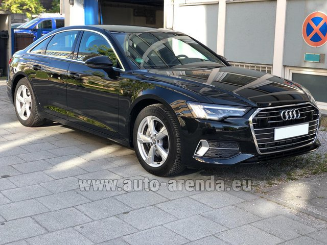 Rental Audi A6 45 TDI Quattro in the Hague