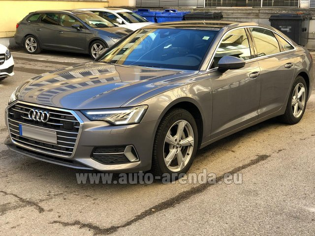 Rental Audi A6 45 TDI Quattro in Netherlands