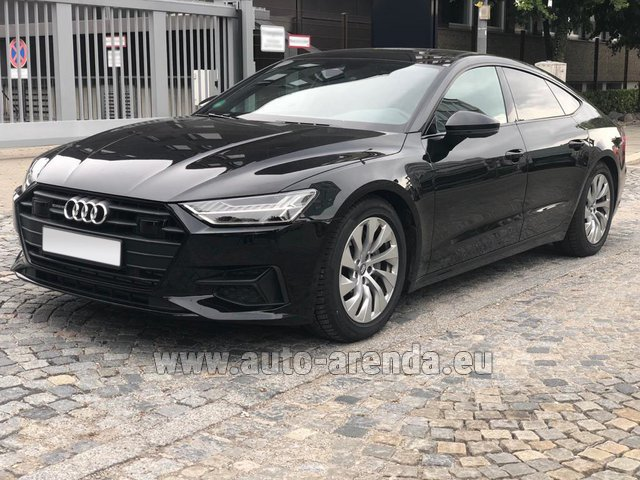 Rental Audi A7 50 TDI Quattro Equipment S-Line in the Hague