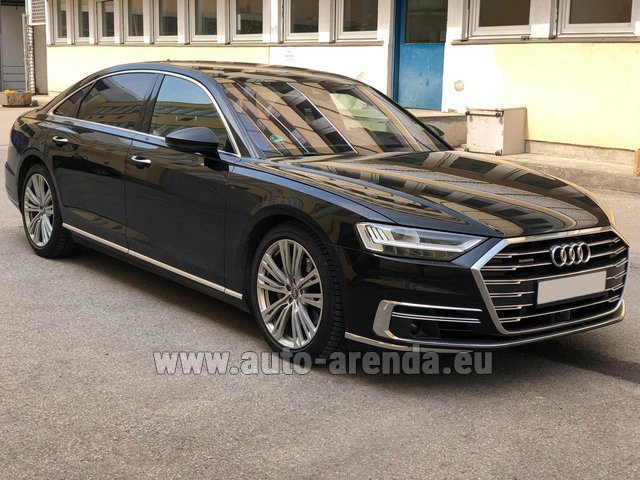 Прокат Ауди A8 Long 50 TDI Quattro в Гааге