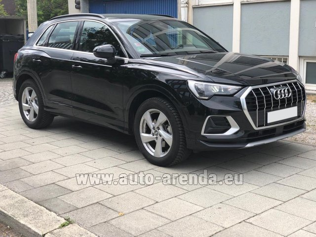 Rental Audi Q3 35 TFSI Quattro in the Hague
