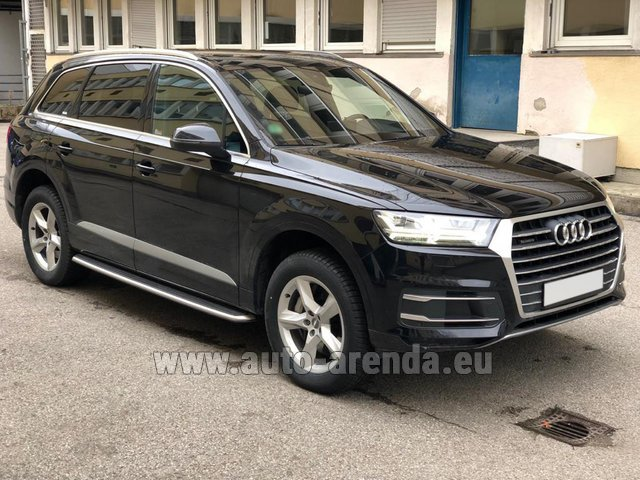 Rental Audi Q7 50 TDI Quattro 5-7 seats in the Hague