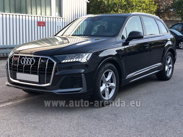 Прокат Ауди Q7 50 TDI Quattro Equipment S-Line (5 мест) в Нидерландах в Голландии