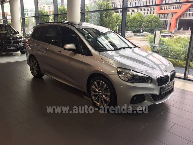 Rental BMW 2 Gran Tourer Equipment M Sport in Amsterdam