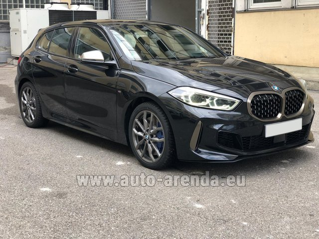 Hire and delivery to Amsterdam Airport Schiphol the car BMW M135i XDrive