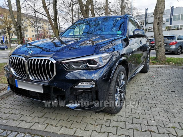 Hire and delivery to Amsterdam Airport Schiphol the car BMW X5 xDrive 30d