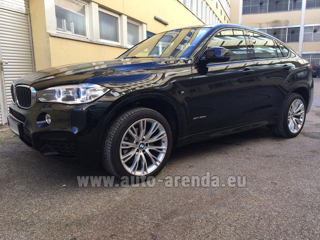 Rental BMW X6 3.0d xDrive High Executive M Sport in Rotterdam