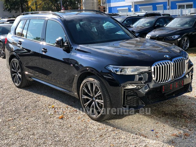 Hire and delivery to Amsterdam Airport Schiphol the car BMW X7 xDrive40i