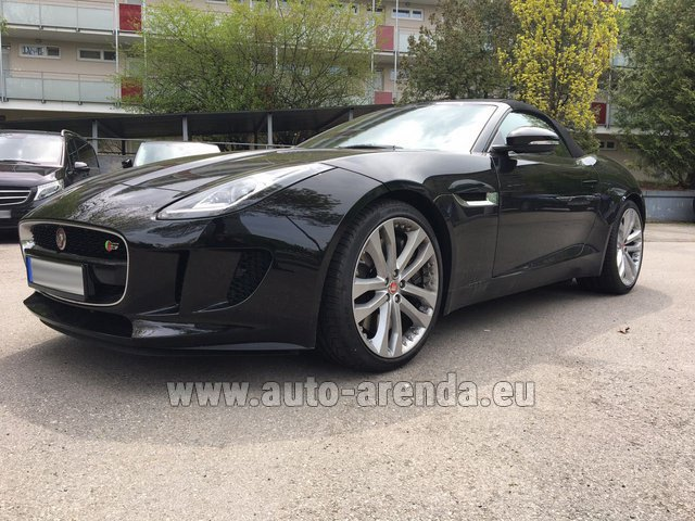 Rental Jaguar F Type 3.0L in Netherlands