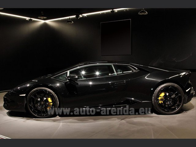 Rental Lamborghini Huracan LP580-2 Lifting System Giano 20 in Rotterdam