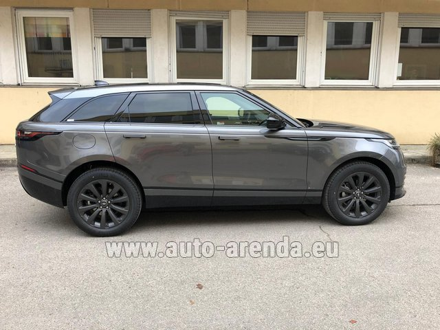 Rental Land Rover Range Rover Velar P250 SE in the Hague