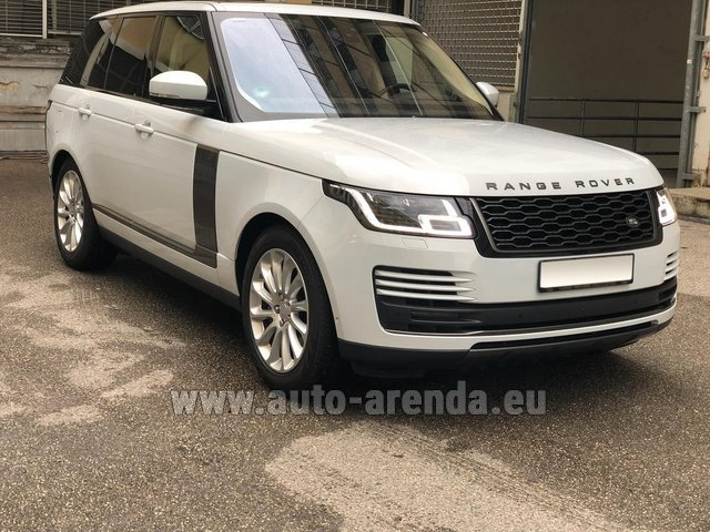 Прокат Ленд Ровер Range Rover Vogue P525 в Нидерландах в Голландии