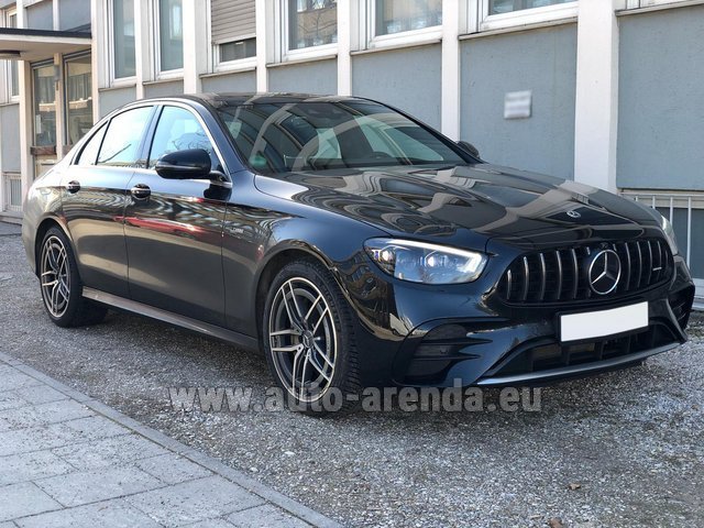 Rental Mercedes-Benz AMG E 53 4MATIC+ Turbo in Netherlands