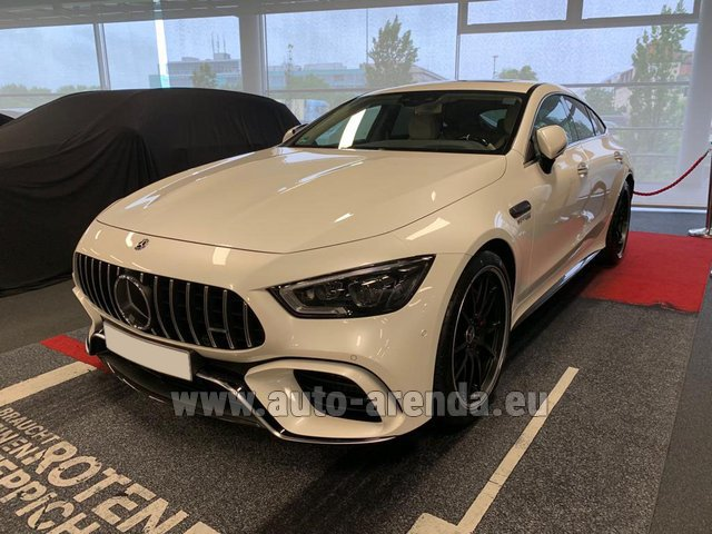 Прокат и доставка в аэропорт Роттердам-Гаага авто Мерседес-Бенц AMG GT 63 S 4-Door Coupe 4Matic+