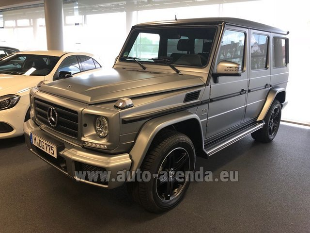 Rental Mercedes-Benz G-Class G 500 Limited Edition in Rotterdam