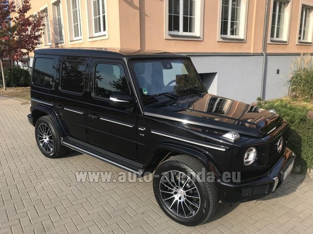 Rental Mercedes-Benz G-Class G500 2018 Exclusive Edition in the Hague