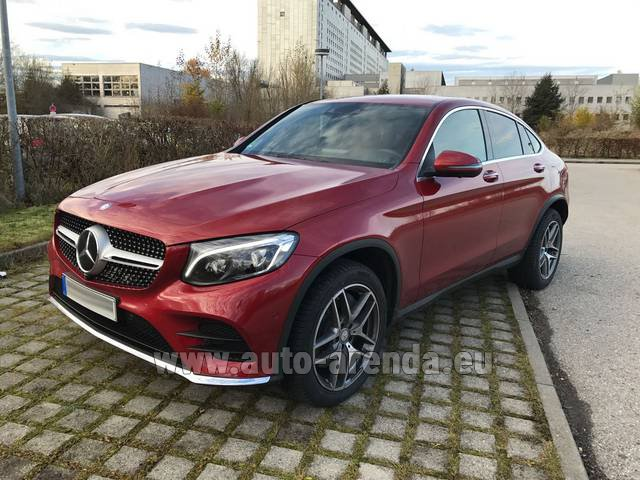 Rental Mercedes-Benz GLC Coupe in Rotterdam