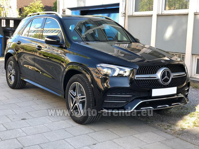 Прокат и доставка в аэропорт Роттердам-Гаага авто Мерседес-Бенц GLE 400 4Matic AMG комплектация