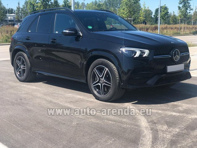 Прокат и доставка в аэропорт Роттердам-Гаага авто Мерседес-Бенц GLE 450 4MATIC AMG комплектация