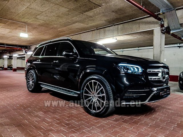 Прокат Мерседес-Бенц GLS 400d 4MATIC BlueTEC комплектация AMG в Нидерландах в Голландии