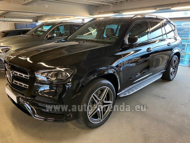 Прокат Мерседес-Бенц GLS 400d BlueTEC 4MATIC комплектация AMG в Нидерландах в Голландии