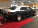 Прокат автомобиля Maybach S 560 4MATIC комплектация AMG Metallic and Black в Амстердаме, фото 4
