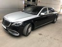 Rent-a-car Maybach S 560 4MATIC AMG equipment Metallic and Black in the Hague, photo 3
