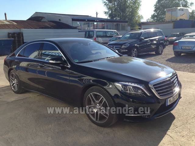 Rental Mercedes-Benz S 350 L BlueTEC AMG in the Hague