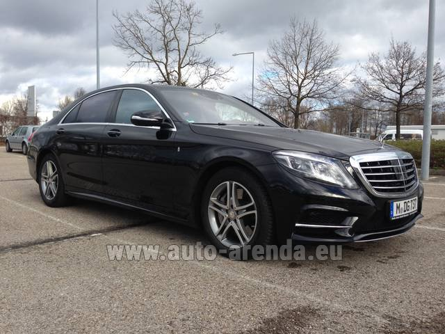 Rental Mercedes-Benz S 350 Long Diesel 4x4 AMG in the Hague