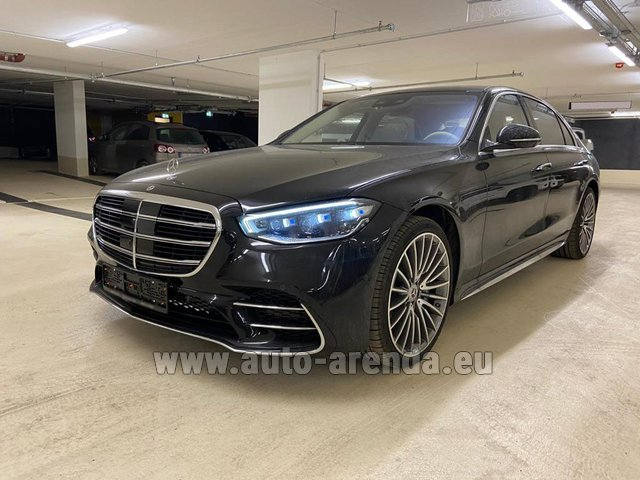 Rental Mercedes-Benz S 500 4MATIC Sedan long in Netherlands