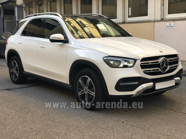 Прокат и доставка в аэропорт Роттердам-Гаага авто Мерседес-Бенц GLE 350 4Matic AMG комплектация