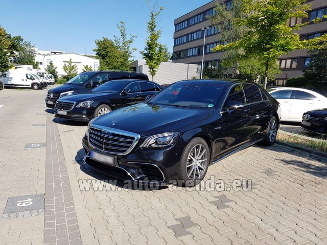 Rental Mercedes-Benz S 63 AMG Long in the Hague
