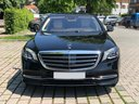 Rent-a-car Mercedes-Benz S-Class S400 Long 4Matic Diesel AMG equipment with its delivery to Amsterdam Airport Schiphol, photo 4