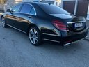 Mercedes-Benz S-Class S400 Long Diesel 4Matic AMG equipment car for transfers from airports and cities in Germany and Europe.