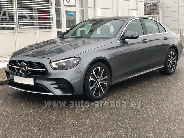 Rental Mercedes-Benz E400d 4MATIC AMG equipment in Netherlands
