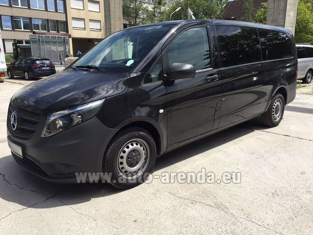 Rental Mercedes-Benz VITO Tourer 116 CDI (9 seats) in Amsterdam