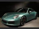 Rent-a-car Porsche 911 991 4S Racinggreen Individual Sport Chrono in the Hague, photo 1
