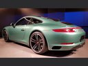 Rent-a-car Porsche 911 991 4S Racinggreen Individual Sport Chrono in the Hague, photo 3