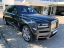 Rent-a-car Rolls-Royce Cullinan dark grey with its delivery to Amsterdam Airport Schiphol, photo 1