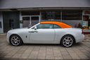 Rent-a-car Rolls-Royce Dawn White in the Hague, photo 1