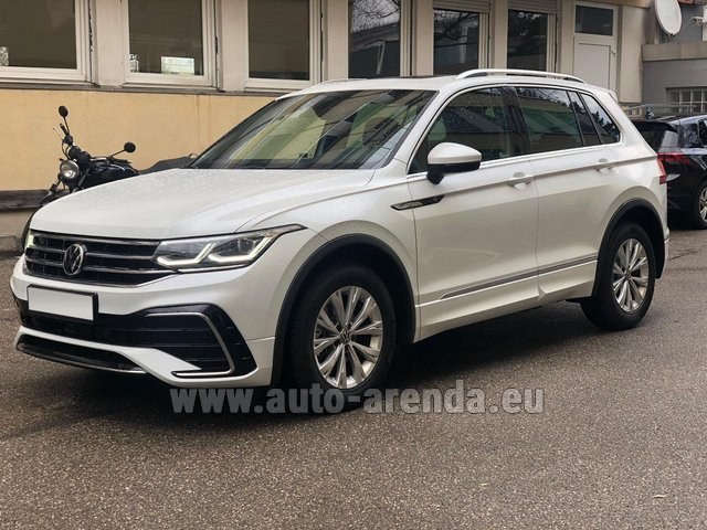 Hire and delivery to Amsterdam Airport Schiphol the car Volkswagen Tiguan R Line 2.0 TSI 333 hp