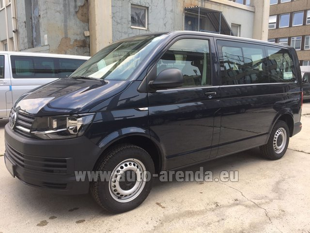 Rental Volkswagen Transporter T6 (9 seater) in Amsterdam
